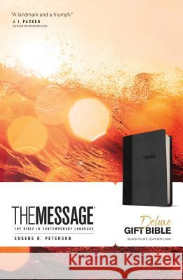 The Message Deluxe Gift Bible: The Bible in Contemporary Language  9781631465802