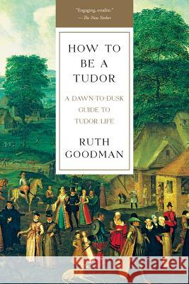 How to Be a Tudor: A Dawn-To-Dusk Guide to Tudor Life Ruth Goodman 9781631492532