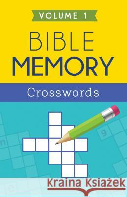 Bible Memory Crosswords, Volume 1 Barbour Publishing 9781634097109