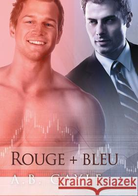 Rouge + Bleu A B Gayle Catherine Delorme  9781634760652 Dreamspinner Press