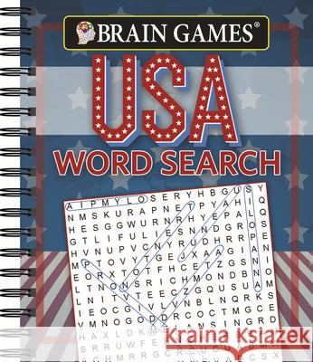 Brain Games USA Word Search Publications International 9781640301627 Publications International, Ltd.