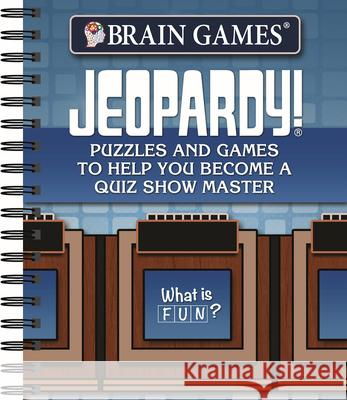 Brain Games Jeopardy Puzzles Publications International 9781640302877 Publications International, Ltd.