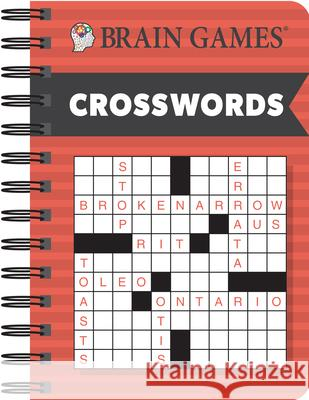 Brain Games Mini Crosswords Publications International 9781640303638 Publications International, Ltd.