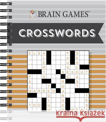 Brain Games Crosswords Publications International 9781640303669 Publications International, Ltd.