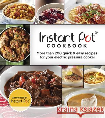 Instant Pot Cookbook Publications International 9781640303805