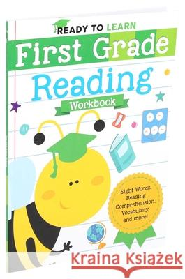Ready to Learn: First Grade Reading Workbook Editors of Silver Dolphin Books 9781645173281