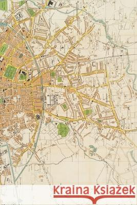 20th century large-scale plan of Dublin: A Poetose Notebook / Journal / Diary (50 pages/25 sheets) Poetose Press   9781646720088