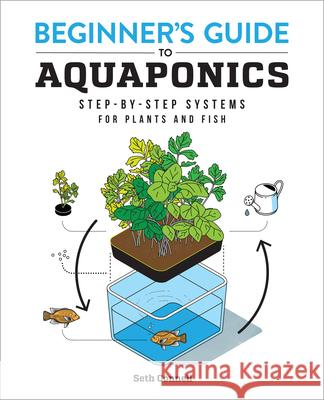 Beginner's Guide to Aquaponics: Step-By-Step Systems for Plants and Fish Seth Connell 9781647397487