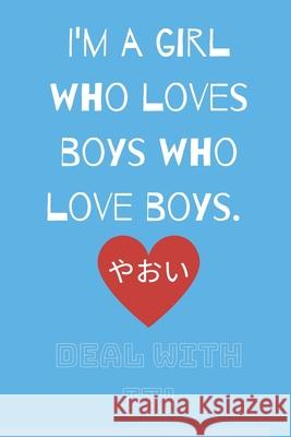 Deal With It: For the Love of Yaoi (Light Blue) Toni Dumas 9781657181274