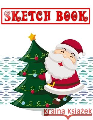 Sketch Book For Beginners Buy A Christmas Gift: Sketch Book Drawing Pad Girl With Stars - Unique - Composition # Templates Size 8.5 X 11 Inch 110 Page Makeda Sketc 9781674494494