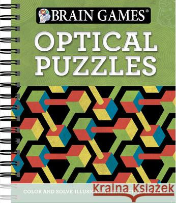 Brain Games Optical Puzzles Ltd Publication 9781680225297