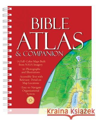 Bible Atlas & Companion Christopher D. Hudson 9781683221432