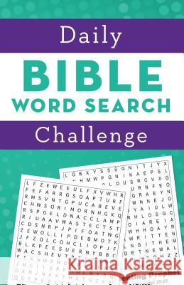 Daily Bible Word Search Challenge Compiled by Barbour Staff 9781683224792 Barbour Publishing