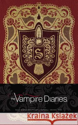 The Vampire Diaries Hardcover Ruled Journal Insight Editions 9781683830085