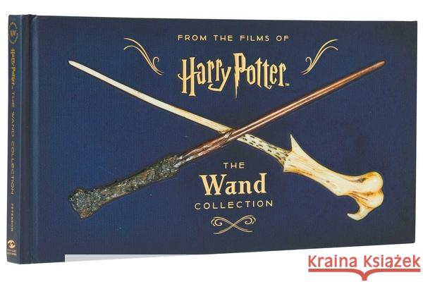 Harry Potter: The Wand Collection (Book) Peterson 9781683831884