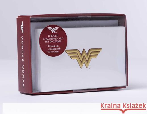 DC Comics: Wonder Woman Foil Gift Enclosure Cards (Set of 10) Insight Editions 9781683832768