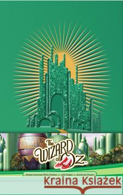 The Wizard of Oz Hardcover Ruled Journal Insight Editions 9781683833345