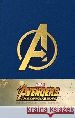 Marvel's Avengers: Infinity War Hardcover Ruled Journal Insight Editions 9781683833376