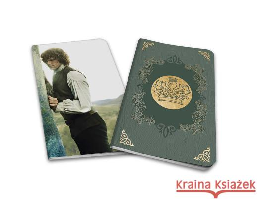 Outlander: Notebook Collection (Set of 2): Jamie and Claire Insight Editions 9781683833536