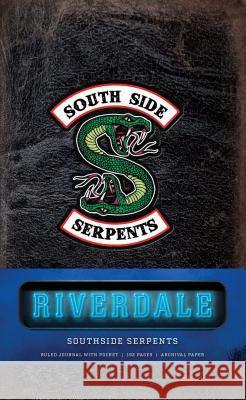 Riverdale Hardcover Ruled Journal: Southside Serpents Insight Editions 9781683836049