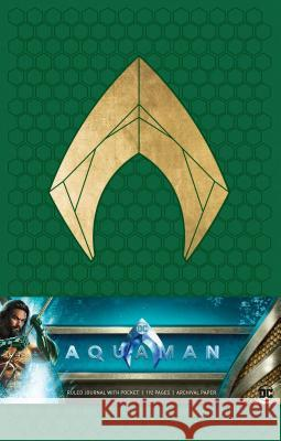 Aquaman Hardcover Ruled Journal Insight Editions 9781683836100