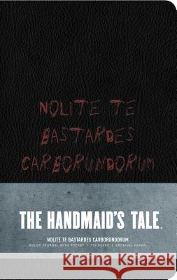 The Handmaid's Tale: Hardcover Ruled Journal #2 Insight Editions 9781683836957