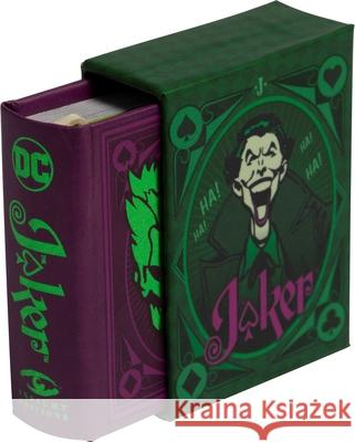 DC Comics: The Wisdom of The Joker : Tiny Book Insight Editions 9781683836995