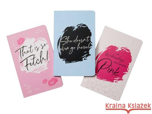 Mean Girls Pocket Notebook Collection (Set of 3) Insight Editions 9781683837282