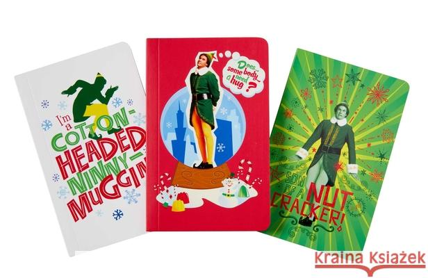 Elf Pocket Notebook Collection (Set of 3) Insight Editions 9781683838111
