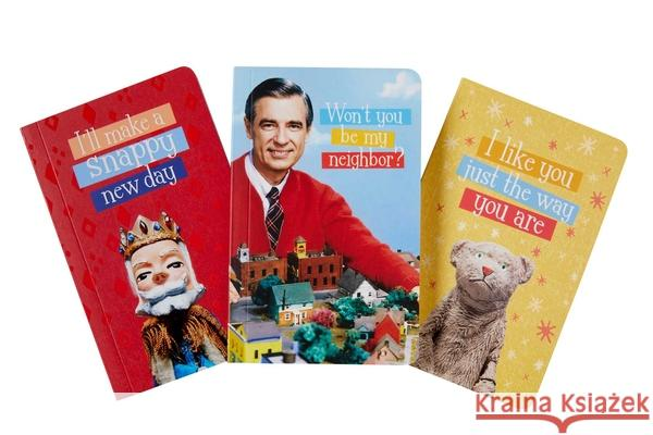 Mister Rogers' Neighborhood Pocket Notebook Collection (Set of 3) Insight Editions 9781683838234