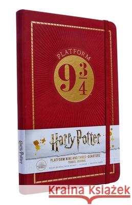 Harry Potter: Platform Nine and Three-Quarters Travel Journal Insight Editions 9781683838968