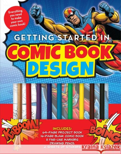 Create Your Own Comic Book Editors of Thunder Bay Press 9781684129737