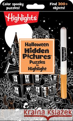 Halloween Hidden Pictures Puzzles to Highlight Highlights 9781684372027