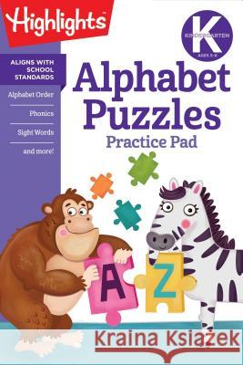 Alphabet Puzzles Highlights 9781684376582