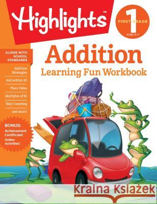 First Grade Addition Highlights Learning 9781684379262