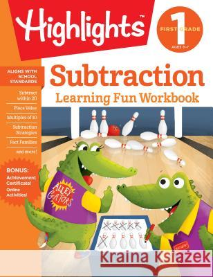 First Grade Subtraction Highlights Learning 9781684379279