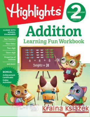 Second Grade Addition Highlights Learning 9781684379309