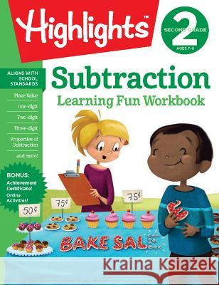 Second Grade Subtraction Highlights Learning 9781684379316