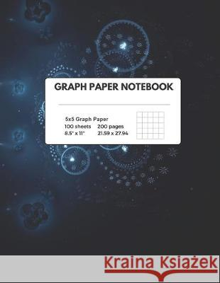 Graph Paper Notebook: Composition - Quad Ruled, 100 Sheets (large, 8.5 x 11) Educational Journals 9781687012005