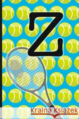 Z: Tennis Monogram Initial Notebook for boys Letter Z - 6