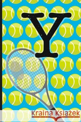 Y: Tennis Monogram Initial Notebook for boys Letter Y - 6