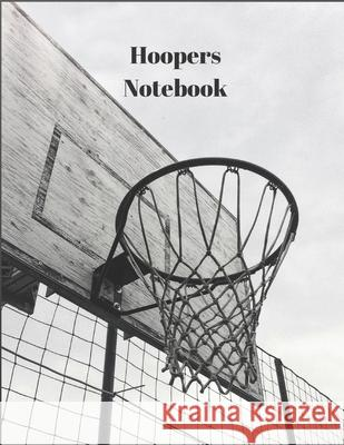 Hoopers Notebook: 1 Subject Notebook, College Ruled Paper, 100 Sheets, 8.5