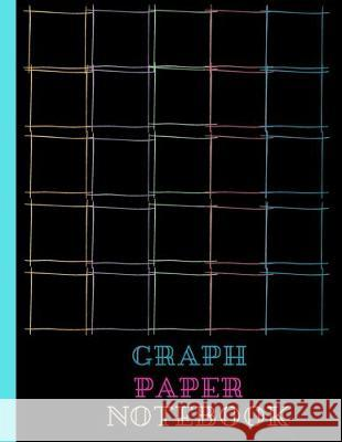 Graph Paper Notebook: Quad Ruled 5 Squares Per Inch, Colorful Squares, 5 X 5 Grid, 8.5 X 11 Size Graph Notebook D. Designs 9781704379005