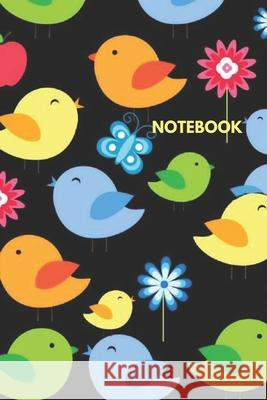 Notebook: Blank Lined Journal to Write in, 120 Pages ( 6