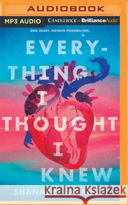 Everything I Thought I Knew - audiobook Shannon Takaoka 9781713547921