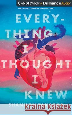 Everything I Thought I Knew - audiobook Shannon Takaoka 9781713547938