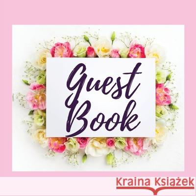 Premium Guest Book - Bouquet of Roses - For any occasion - 80 Premium color pages - 8.5 x8.5 Pappel20 9781716251405