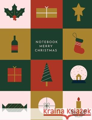 Merry Christmas Notebook Personaldev Books 9781716318184