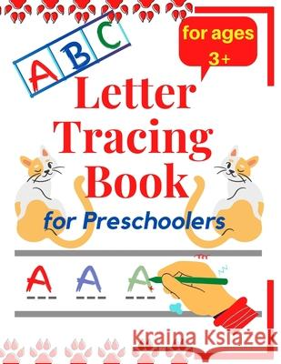 Letter tracing book for preschoolers The H. H. Couple Couple 9781716968860