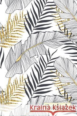 Notebook: Monochrome Tropical Pattern College Ruled Journal for Taking Notes Journaling School or Work Vanguard Notebooks 9781717878137
